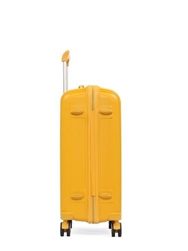 Cengiz Pakel Büyük-Orta 2'li Set Valiz Sarı